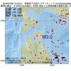 2016年07月30日 12時45分 青森県下北地方でM3.0の地震