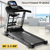 Máy chạy bộ điện Tech Fitness TF-20AS, máy chạy bộ điện giá rẻ