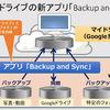 Googleドライブの新アプリ「Backup and Sync」インストール手順紹介 ~現アプリのサポートは12月11日に終了