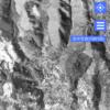 土石流が流れ下った場所