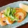 タイ風えびパクチー、たこ飯