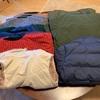 ユニクロ シームレスダウンジャケット 今年は宅配クリーニングにしてみました。