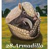 今日のアニマルオラクル 「アルマジロ」 線引き