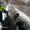 初冬の支笏湖、丸駒温泉へ