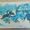 山桜の版画 Ⅱ