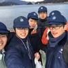 31期生 乗船実習(海王丸)