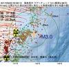 2017年09月22日 00時58分 福島県沖でM3.0の地震