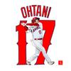 MLBエンゼルス 打者・大谷翔平をエクセルで描いてみた