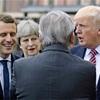 トランプ氏、関税下げ要求 G7会議、貿易で摩擦鮮明に