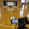 1学期終業式① 体育館と教室で参列