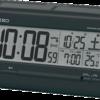 電池の消耗を抑えるソーラー補助の目覚まし置き時計を使っています。
