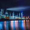 【RAW現像】初めての工場夜景撮影。ホワイトバランスで変わる世界観を楽しむ。