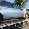 三鷹市からレッカー車で遺産相続の車検切れ故障車を廃車の引き取りしました。
