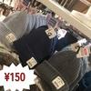 ニット帽¥150