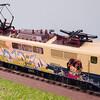 """Märklin 83342 DB 111 018-8 """"Graffiti"""" Ep.4 その3"""