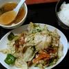 【今日の食卓】東秀花小金井店で、期間限定「回鍋肉(ホイコーロー)定食 辛味噌たれ」