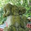 加賀逆立ち狛犬巡り・金沢「児安神社」