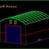 ガレージ模型の製作1