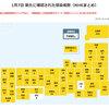 日本国内 新型コロナウイルスによる新規感染者数 と Google 予測(1月7日現在 )