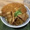 【上里SA(上り)】姫軒:姫豚ミックス丼・・・ソースカツも姫豚のタレ焼きも美味しい