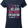 Lovely She believed she could so she did class of 2020 shirt