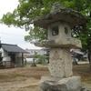 冬木神社石灯籠