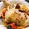 骨つき鶏もも肉の南瓜スープ