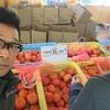 詰め放題って言葉に弱い僕と嫁さん、今日は柿を詰めて詰めて詰めまくって来ました。