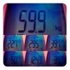 今週の体重、59.9kg。人体の不思議。
