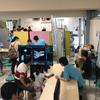 デジタルサイネージで子供集客イベント