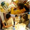 「手作りブックの体験講座 in福丸珈琲」癒しのカフェで癒しのモノ作り