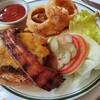 【子連れランチ】ウルフギャング・ステーキハウス六本木店でハンバーガーを注文しました