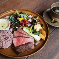 FULL OF BEANS(フルオブビーンズ)の「国産牛ステーキプレート 〜加賀野菜 源助大根とゆずのソースで〜」