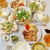【和食】焼き鳥パラダイスな食卓&食べられるお花/Yakitori and Deep-Fried Edible Flower at Home