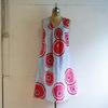 綿 菊模様 タックワンピース Mサイズができました!