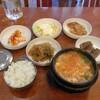 韓国三日目お昼ごはん