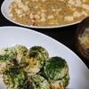 麻婆豆腐、酸辣湯?、長芋チーズ焼き