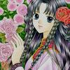 「薔薇小姐」F0サイズオリジナルアナログイラスト:日本語の「お姉さん」「おばさん」問題