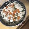 おいしいもの食べたいの * その6  〜豆腐の鍋風ご飯*