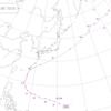 1986年に関東に接近した台風