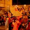 何とも不思議な雰囲気 西馬音内の盆踊りは他に例を見ない。