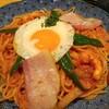 洋麺屋五右衛門/イベリコ豚ベーコンとソーセージのナポリタン