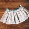 【エルサドレス】雪の結晶柄のソフトチュールでマント兼用オーバースカートの作り方