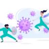 『モノ』を大量にコピーし続けるマキシマリストの人類と、『核酸』のみを大量にコピーし続けるミニマリストなウイルスとの果てなき戦い。