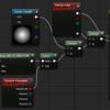 【UE4】DynamicParameterにて、ノイズテクスチャを使ったフェードアウト