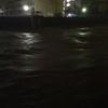 府中町で避難勧告 府中大川、瀬野川氾濫警報中