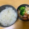 【お弁当】12月6日のお昼 コーンスープとご飯
