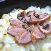 ゆり根と鴨と銀杏の炊き込みご飯、トリュフの香り