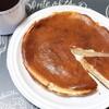 息子と「ベイクドチーズケーキ」作り 混ぜるだけの簡単レシピ