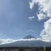 富士山のマフラー